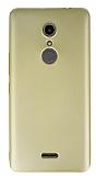 Alcatel A3 XL Mat Gold Silikon Kılıf