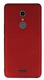 Alcatel A3 XL Mat Kırmızı Silikon Kılıf