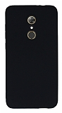 Alcatel A7 Mat Siyah Silikon Kılıf