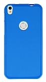 Alcatel Shine Lite Mavi Silikon Kılıf