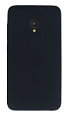 Alcatel U5 Mat Siyah Silikon Kılıf