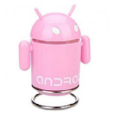 Pembe Android Mp3 Player ve Hoparlör
