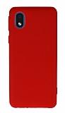 Anti-Shock Samsung Galaxy A01 Core Kırmızı Silikon Kılıf