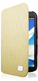 AnyMode Samsung N7100 Galaxy Note 2 Kapakl� Krem Deri K�l�f