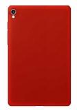 Apple iPad Pro 10.5 Kırmızı Silikon Kılıf