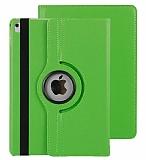 Apple iPad Pro 10.5 360 Derece Döner Standlı Yeşil Deri Kılıf