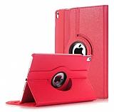 Apple iPad Pro 11 360 Derece Döner Standlı Kırmızı Deri Kılıf