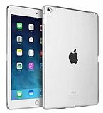 Apple iPad Pro 9.7 Ultra İnce Şeffaf Silikon Kılıf