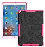 Apple iPad Pro 9.7 Ultra Süper Koruma Standlı Pembe Kılıf