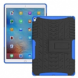 Apple iPad Pro 9.7 Ultra Süper Koruma Standlı Mavi Kılıf