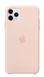 Apple iPhone 11 Pro Max Orjinal Kum Pembesi Silikon Kılıf