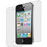 Apple iPhone 4 / iPhone 4S Ön + Arka Ekran Koruyucu Film