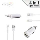 Cortrea iPhone Lightning �arj Seti (4 Par�a)