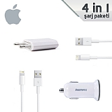 Apple Lightning Orjinal �arj Seti (4 Par�a)