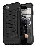 Araree Wrangler Fit iPhone 7 Plus / 8 Plus Ultra Koruma Siyah Kılıf