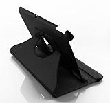 Asus Padfone 2 A68 360 Derece Döner Standlı Siyah Deri Kılıf