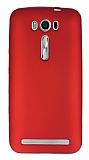 Asus ZenFone 2 Laser 5 inç Mat Kırmızı Silikon Kılıf