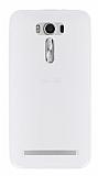 Asus Zenfone 2 Laser 6 inç Beyaz Silikon Kılıf