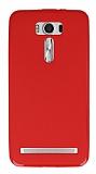 Asus Zenfone 2 Laser 6 inç Kırmızı Silikon Kılıf