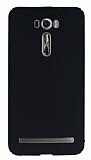 Asus Zenfone 2 Laser 6 inç Tam Kenar Koruma Siyah Rubber Kılıf