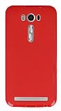 Asus ZenFone 2 Laser 5 inç Kırmızı Silikon Kılıf