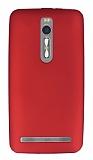 Asus ZenFone 2 ZE551ML Mat Kırmızı Silikon Kılıf