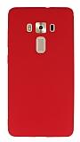 Asus ZenFone 3 Deluxe ZS570KL Mat Kırmızı Silikon Kılıf
