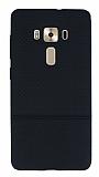 Asus ZenFone 3 Deluxe ZS570KL Ultra İnce Noktalı Siyah Silikon Kılıf