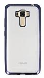 Asus Zenfone 3 Laser ZC551KL Siyah Kenarlı Şeffaf Silikon Kılıf