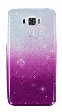 Asus Zenfone 3 Laser ZC551KL Simli Mor Silikon Kılıf