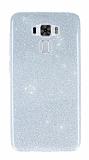 Asus Zenfone 3 Laser ZC551KL Simli Silver Silikon Kılıf