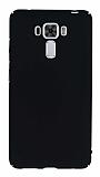 Asus Zenfone 3 Laser ZC551KL Tam Kenar Koruma Siyah Rubber Kılıf