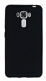 Asus Zenfone 3 Laser ZC551KL Ultra İnce Mat Siyah Silikon Kılıf