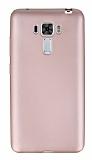 Asus Zenfone 3 Laser ZC551KL Ultra İnce Mat Rose Gold Silikon Kılıf