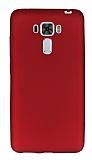 Asus Zenfone 3 Laser ZC551KL Ultra İnce Mat Bordo Silikon Kılıf