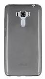Asus Zenfone 3 Laser ZC551KL Ultra İnce Şeffaf Siyah Silikon Kılıf