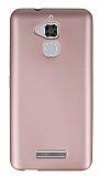 Asus Zenfone 3 Max ZC520TL İnce Mat Rose Gold Silikon Kılıf