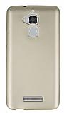 Asus Zenfone 3 Max ZC520TL İnce Mat Gold Silikon Kılıf