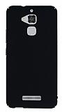 Asus Zenfone 3 Max ZC520TL Tam Kenar Koruma Siyah Rubber Kılıf