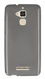 Asus Zenfone 3 Max ZC520TL Ultra İnce Şeffaf Siyah Silikon Kılıf