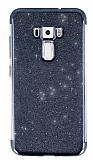Asus ZenFone 3 ZE552KL Simli Siyah Silikon Kılıf