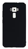 Asus ZenFone 3 ZE552KL Tam Kenar Koruma Siyah Rubber Kılıf