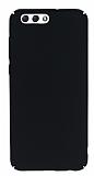 Asus ZenFone 4 ZE554KL Tam Kenar Koruma Siyah Rubber Kılıf