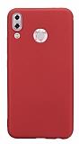 Asus ZenFone 5 ZE620KL Mat Kırmızı Silikon Kılıf