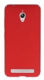 Asus ZenFone Go Tam Kenar Koruma Kırmızı Rubber Kılıf