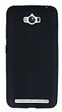 Asus ZenFone Max Deri Desenli Ultra İnce Siyah Silikon Kılıf