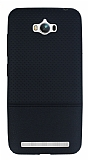 Asus ZenFone Max Ultra �nce Noktal� Siyah Silikon K�l�f