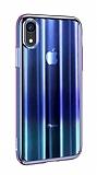 Baseus Aurora iPhone XR Mavi Rubber Kılıf
