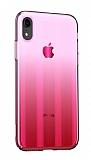 Baseus Aurora iPhone XR Pembe Rubber Kılıf