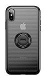 Baseus Dot Bracket iPhone XS Max Standlı Silikon Kılıf